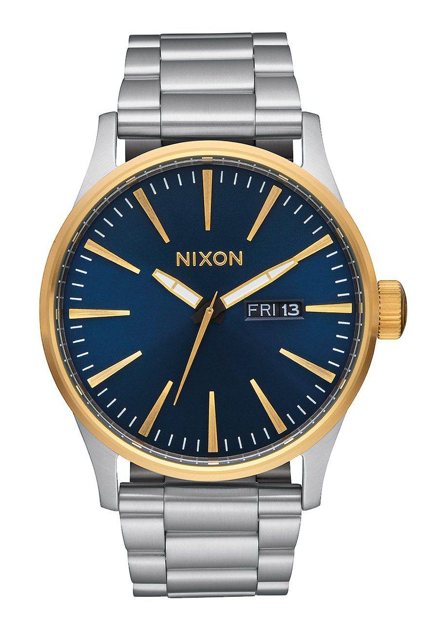 Nixon The Sentry SS Gold / Blue Sunray