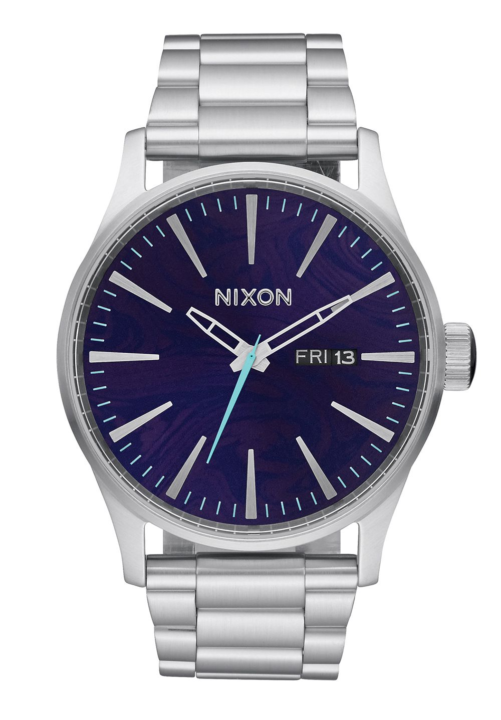Nixon The Sentry SS Purple Herrenuhr