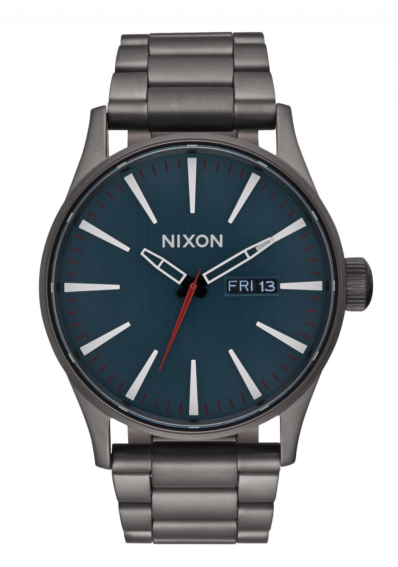 Nixon The Sentry SS All Gunmetal / Dark Blue