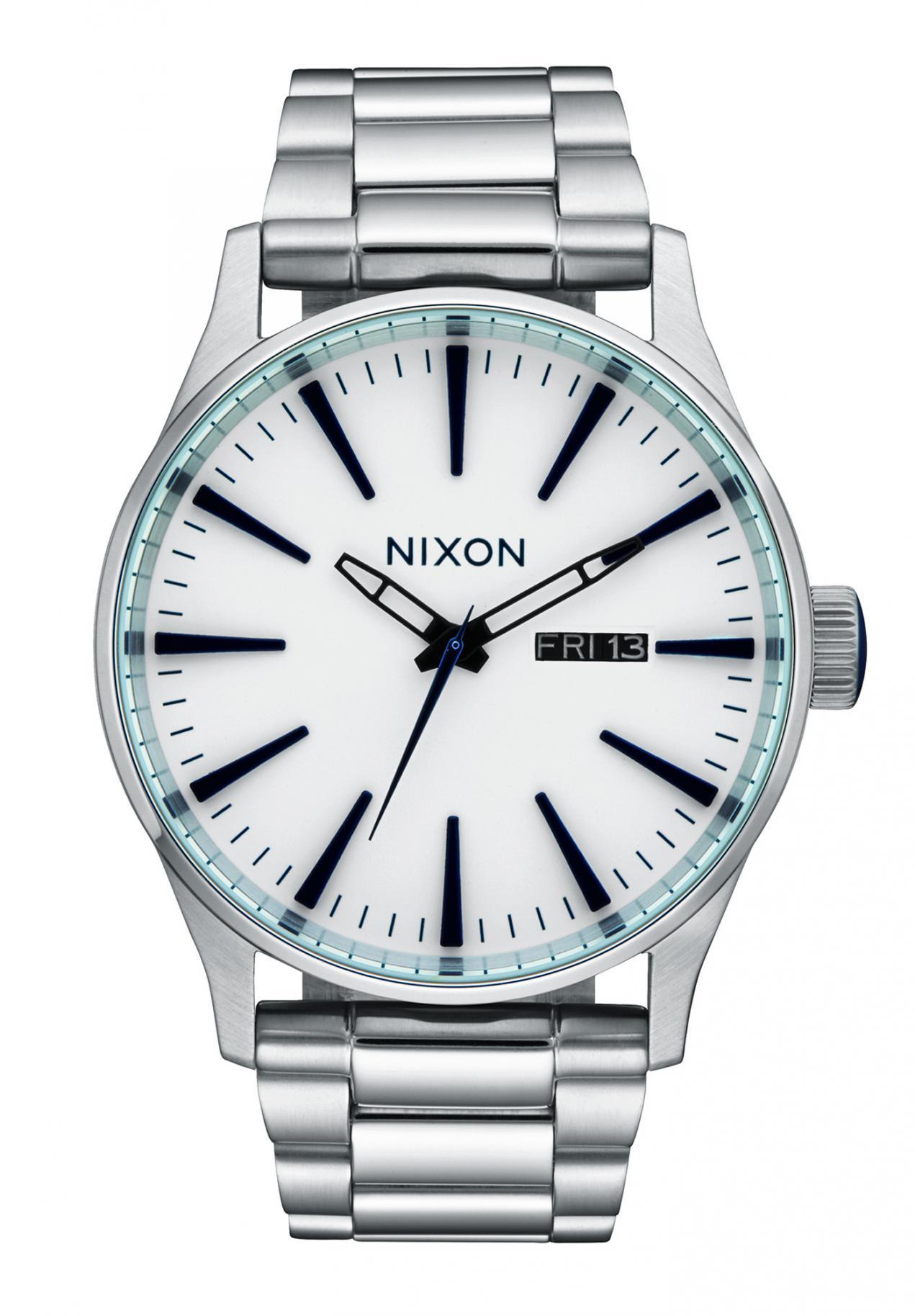 Nixon The Sentry SS White Sunray