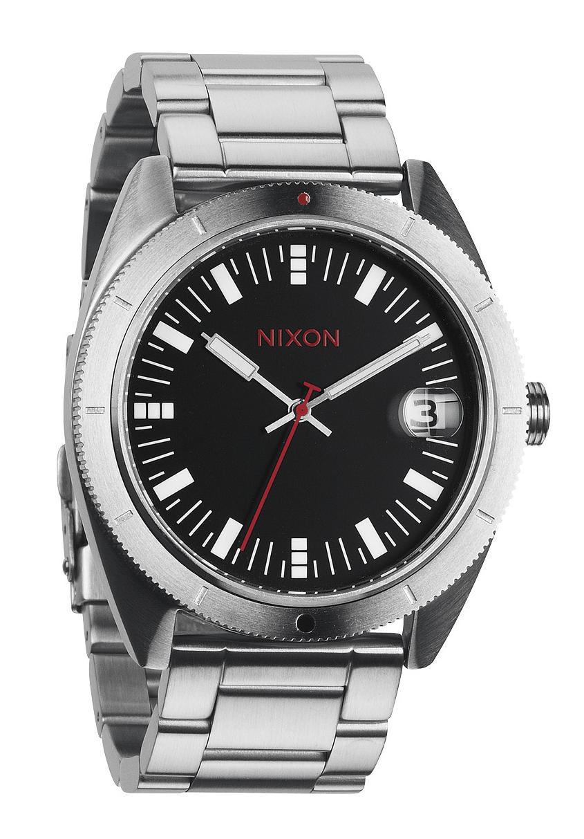 Nixon The Rover SS II Black / Red Herrenuhr