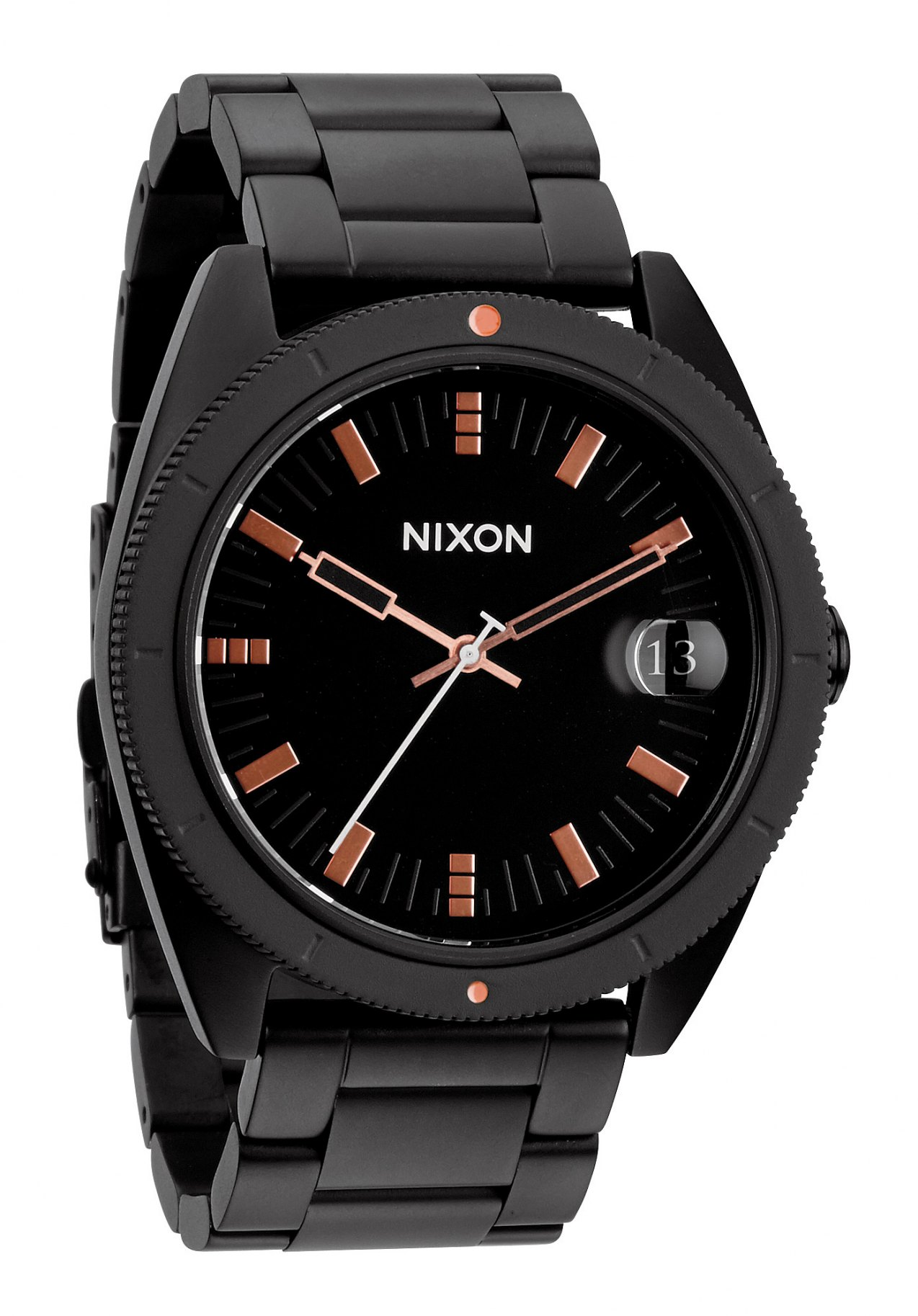 nixon the rover ss ii matte black industrial green nur 179 00. Black Bedroom Furniture Sets. Home Design Ideas
