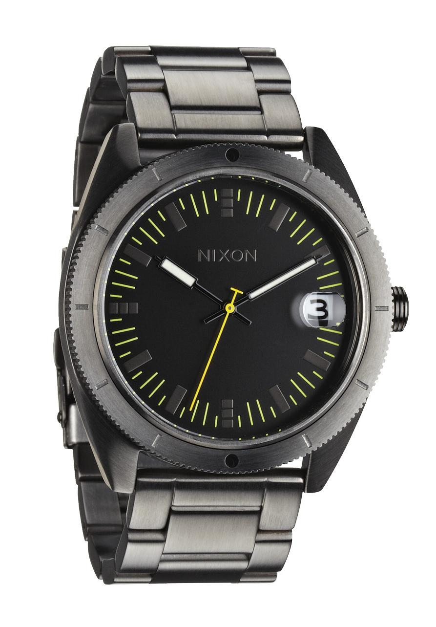 Nixon The Rover SS II All Gunmetal Herrenuhr