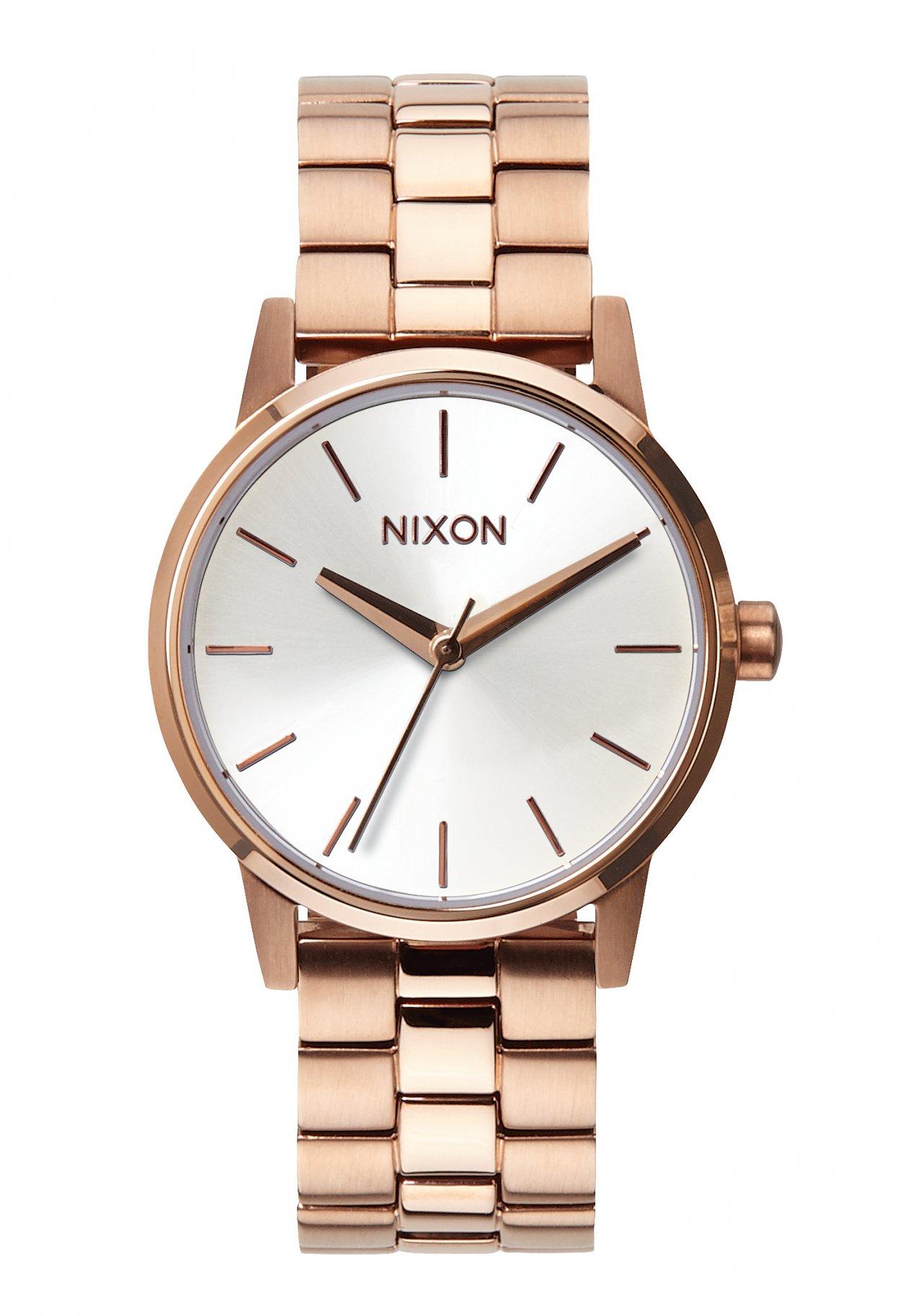 Nixon The Small Kensington Rose Gold / White