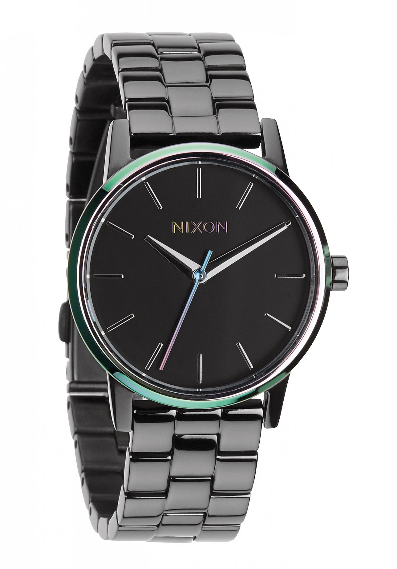 Nixon The Small Kensington Gunmetal / Multi Damenuhr