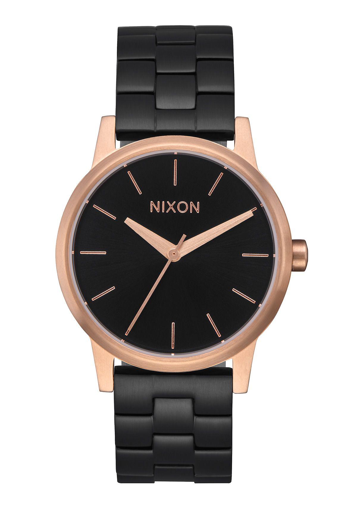Nixon The Small Kensington Black / Rose / Black