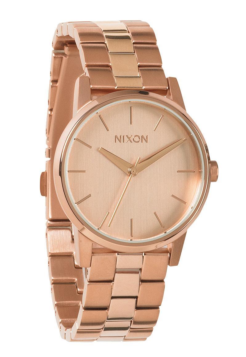 nixon the small kensington all rose gold a361897 nur 199 00. Black Bedroom Furniture Sets. Home Design Ideas