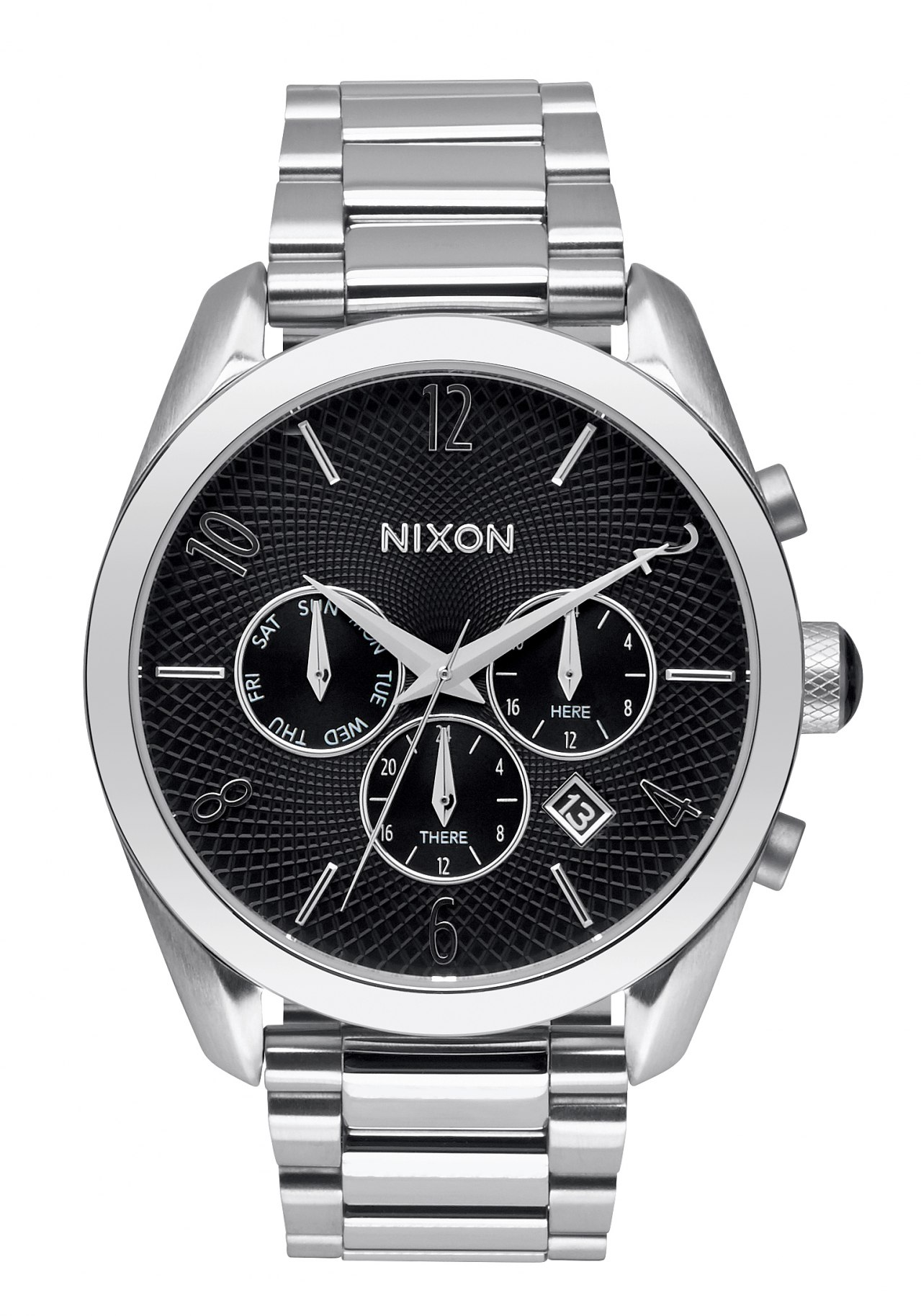 Nixon The Bullet Chrono Black