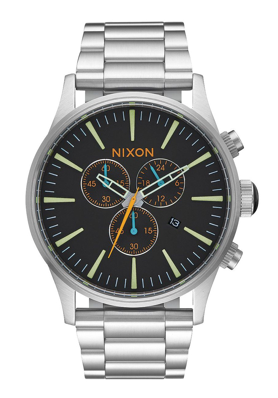 Nixon The Sentry Chrono Black / Multi