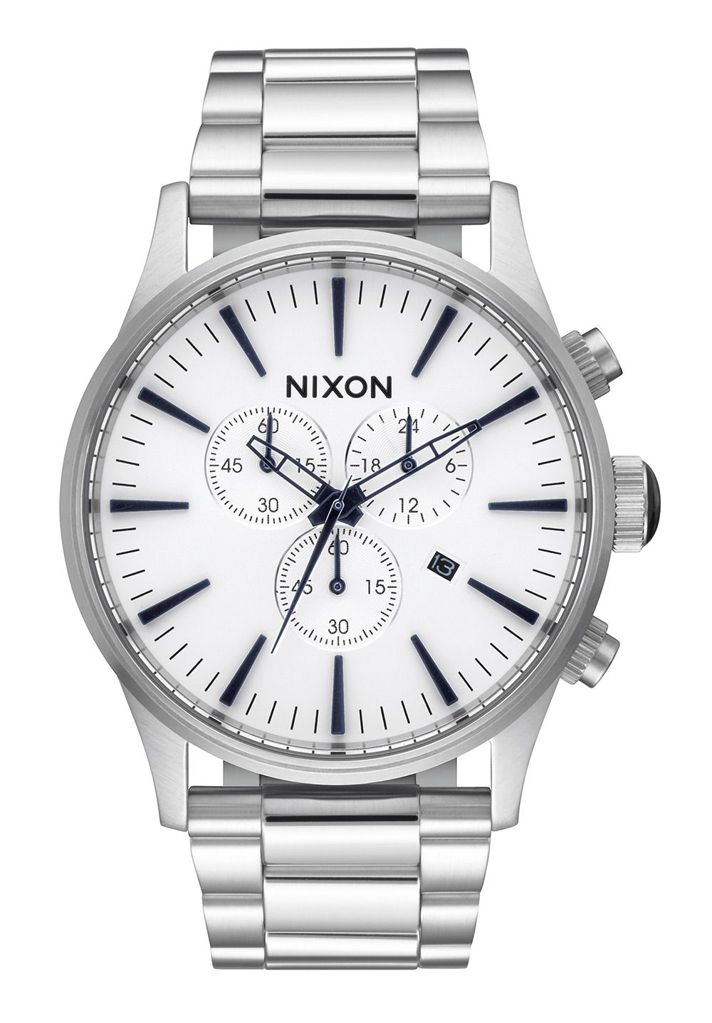 Nixon The Sentry Chrono White Sunray