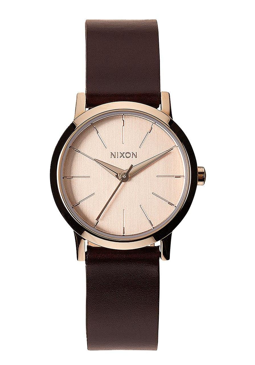 Nixon The Kenzi Leather Rose Gold Brown