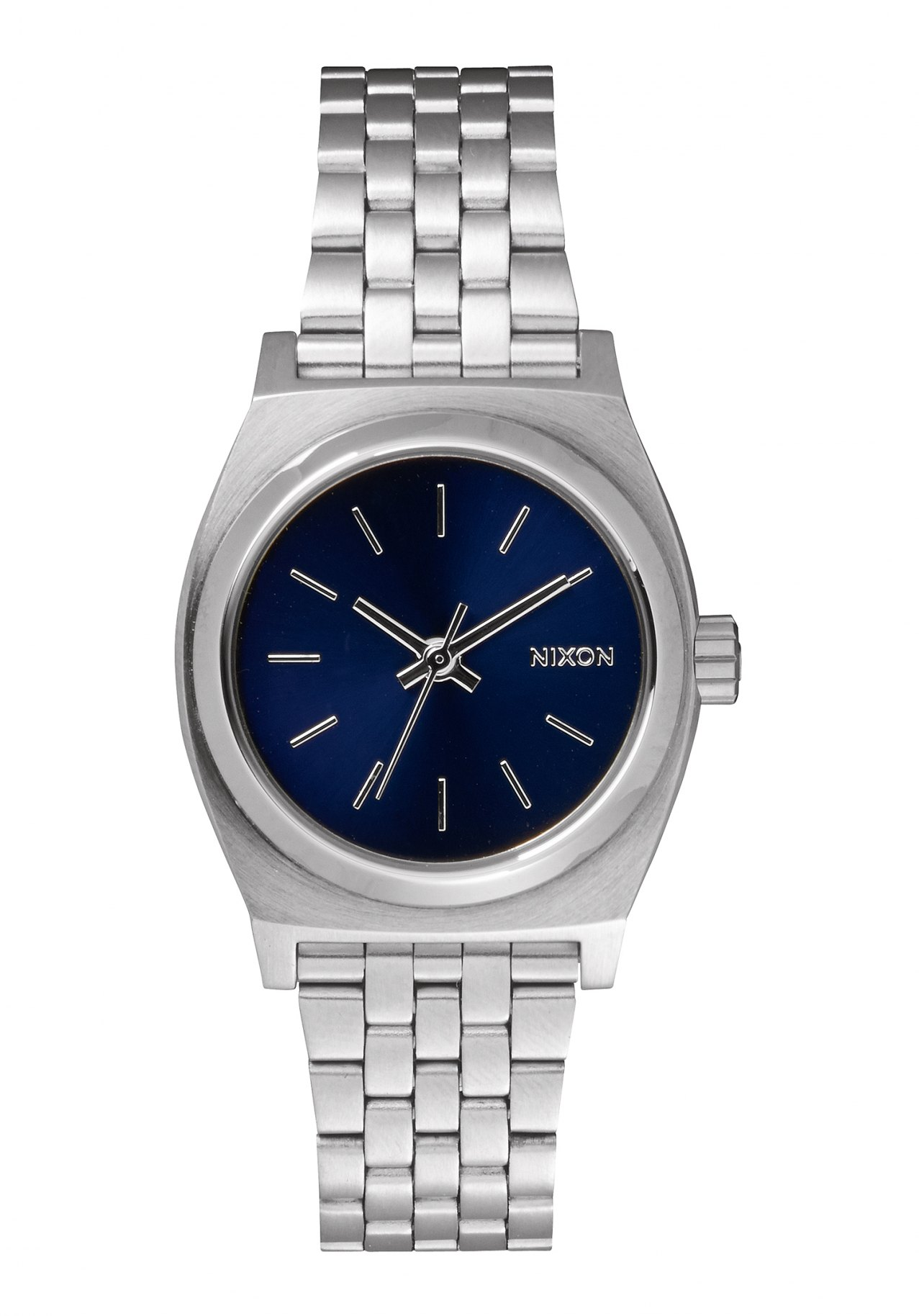 Nixon The Small Time Teller All Silver / Cobalt