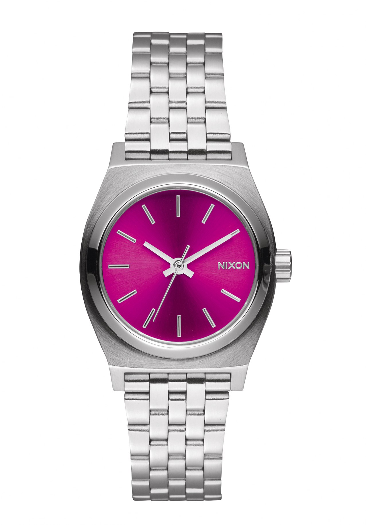 Nixon The Small Time Teller Pink Sunray - B4BC Damenuhr