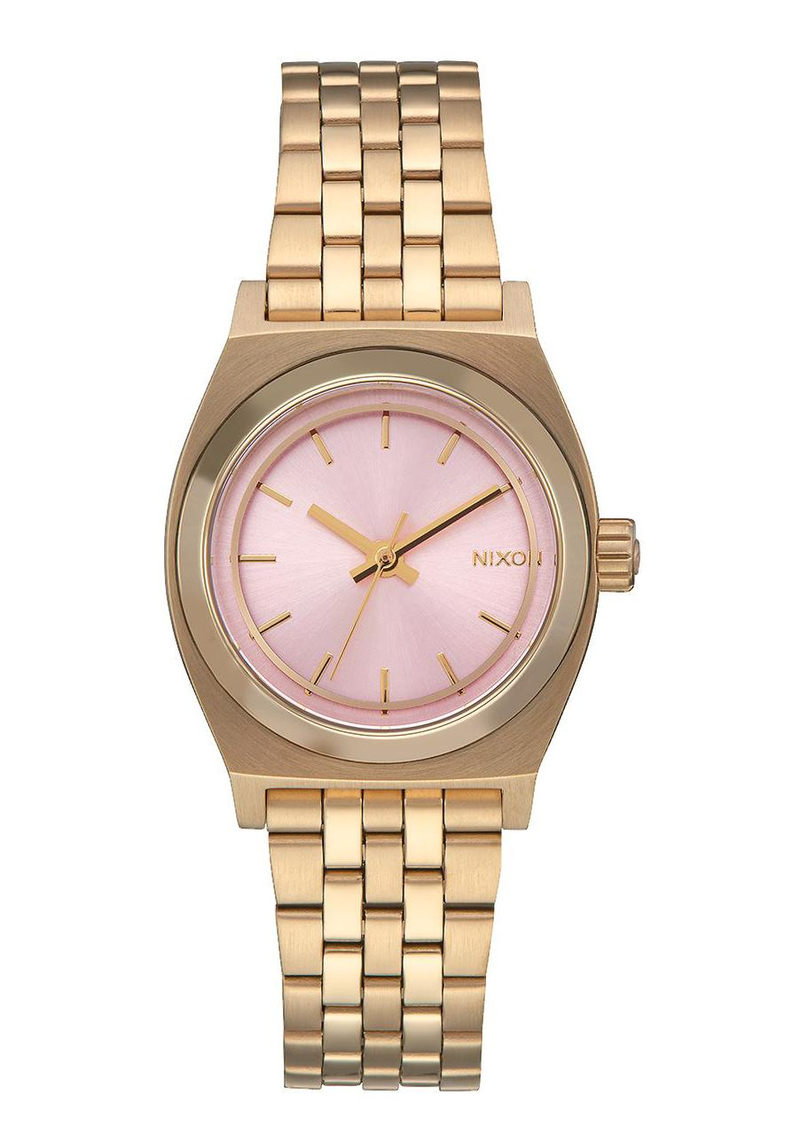 Nixon The Small Time Teller Light Gold Pink