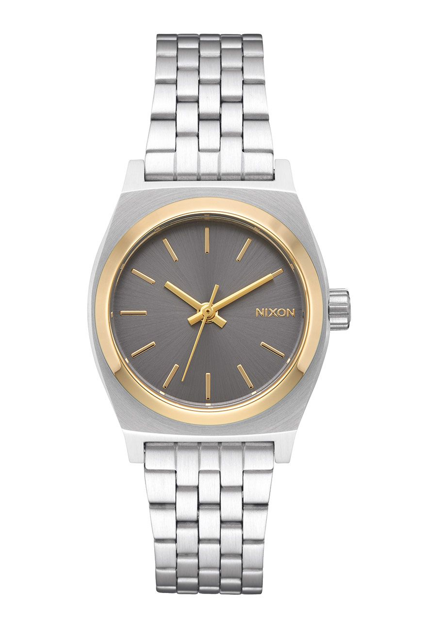 Nixon The Small Time Teller Silver / Gold / Gray
