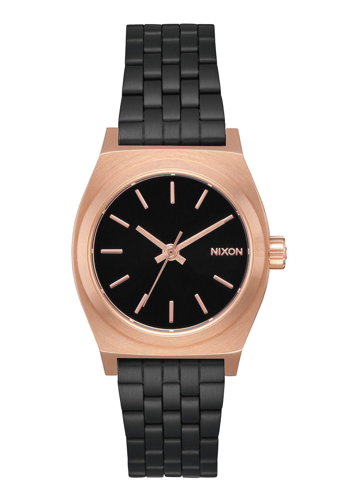 Nixon The Small Time Teller Black / Rose / Black