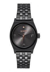 Nixon The Small Time Teller Black Crystal / Rose Gold (A3992525)
