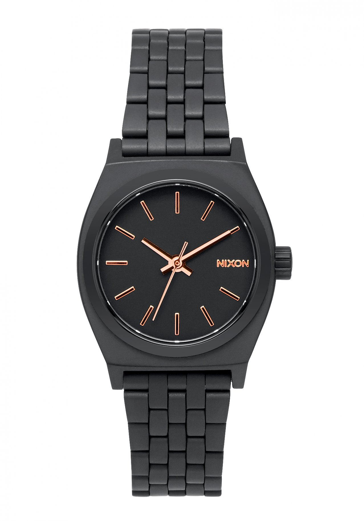 Nixon The Small Time Teller All Black / Rose / Gold