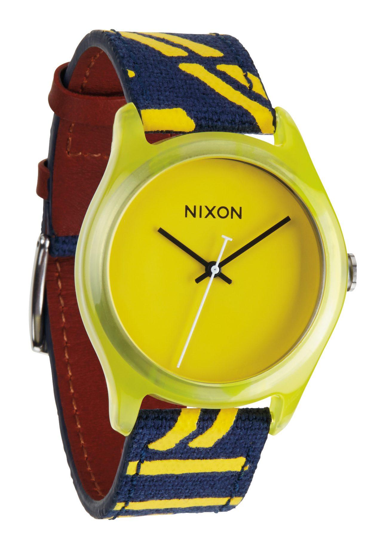 Nixon The Mod Acetate Yellow Damenuhr