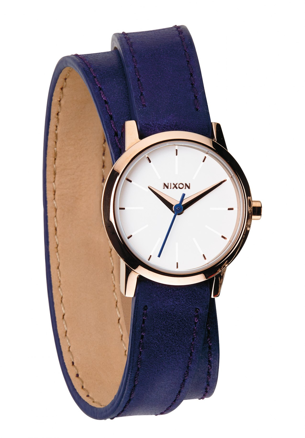 Nixon The Kenzi Wrap Cobalt / Rose Gold Damenuhr