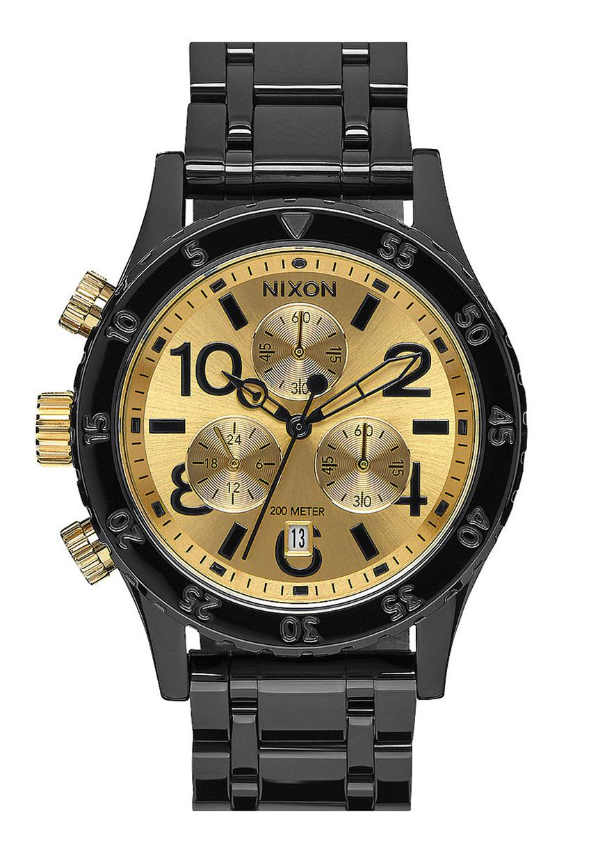 Nixon The 38-20 Chrono Black / Gold
