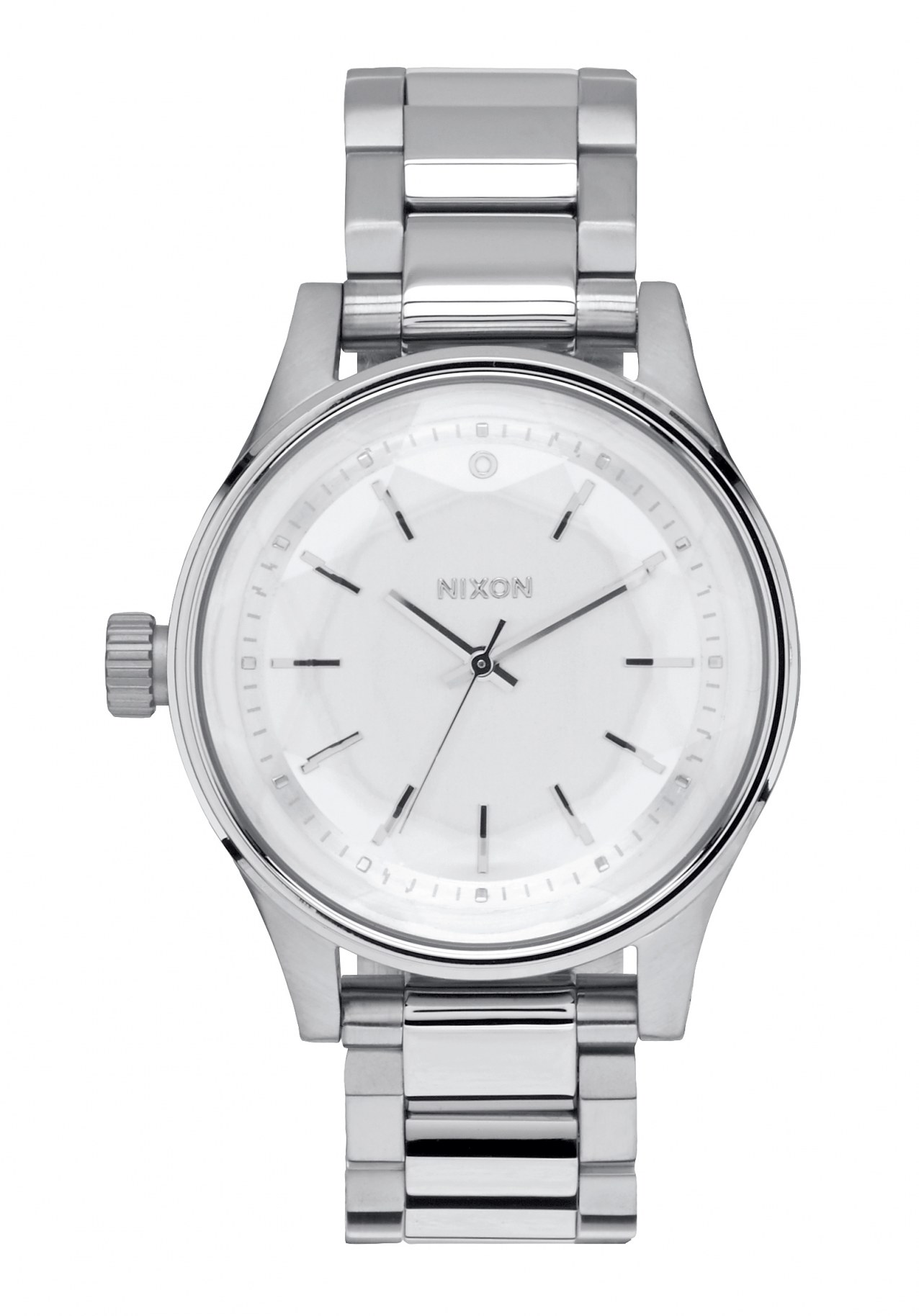 Nixon The Facet 38 All Silver