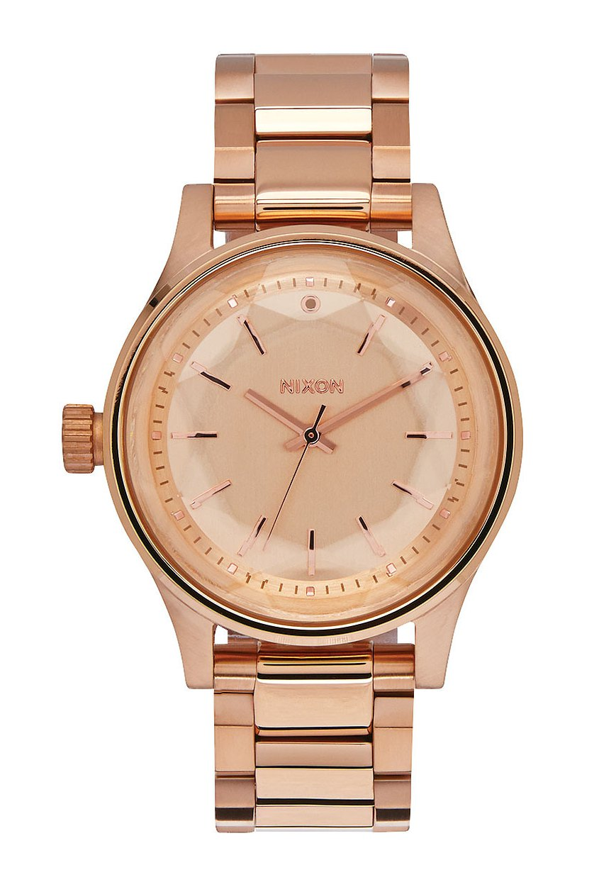 Nixon The Facet 38 All Rose Gold