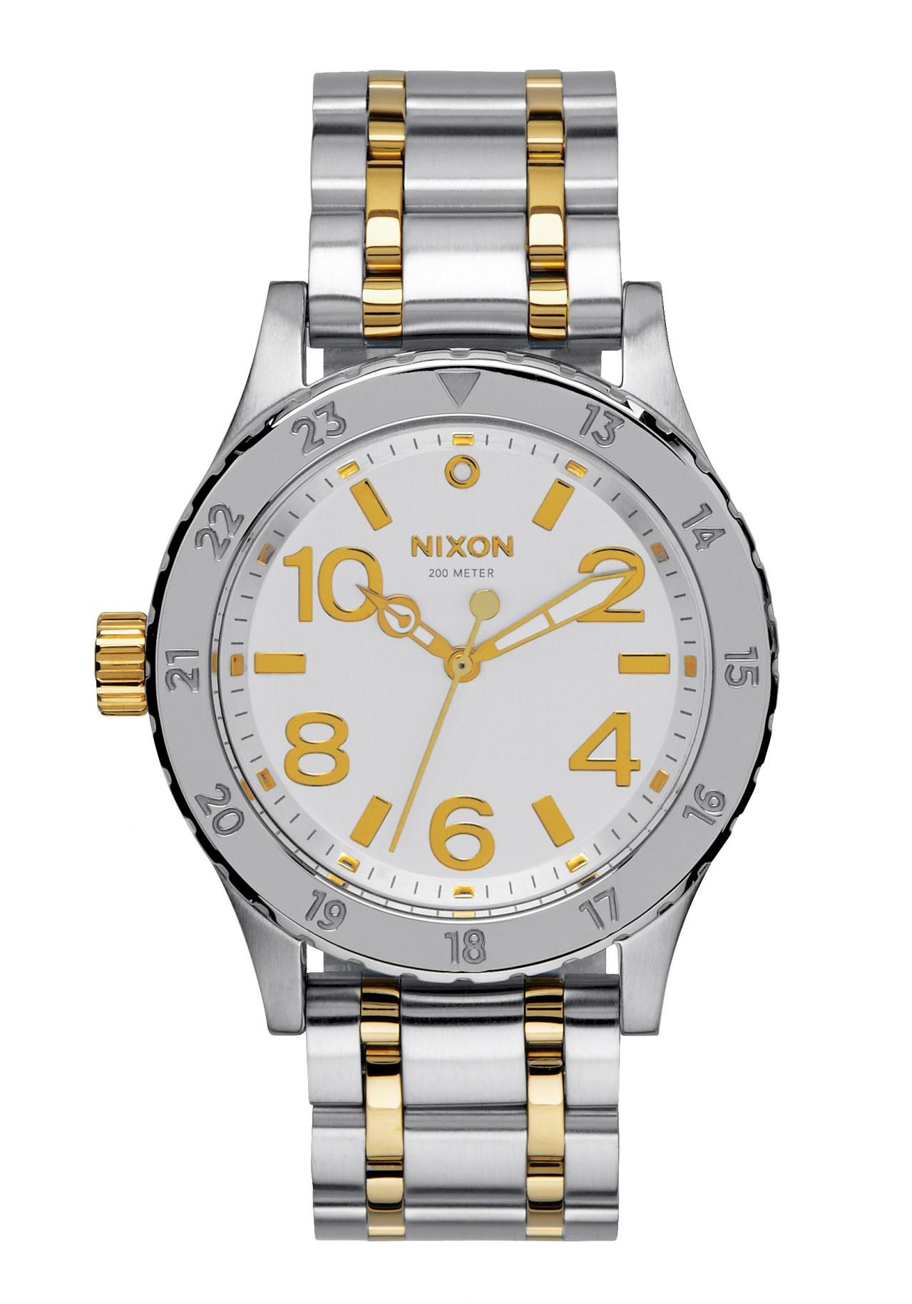 Nixon The 38-20 Silver / Gold