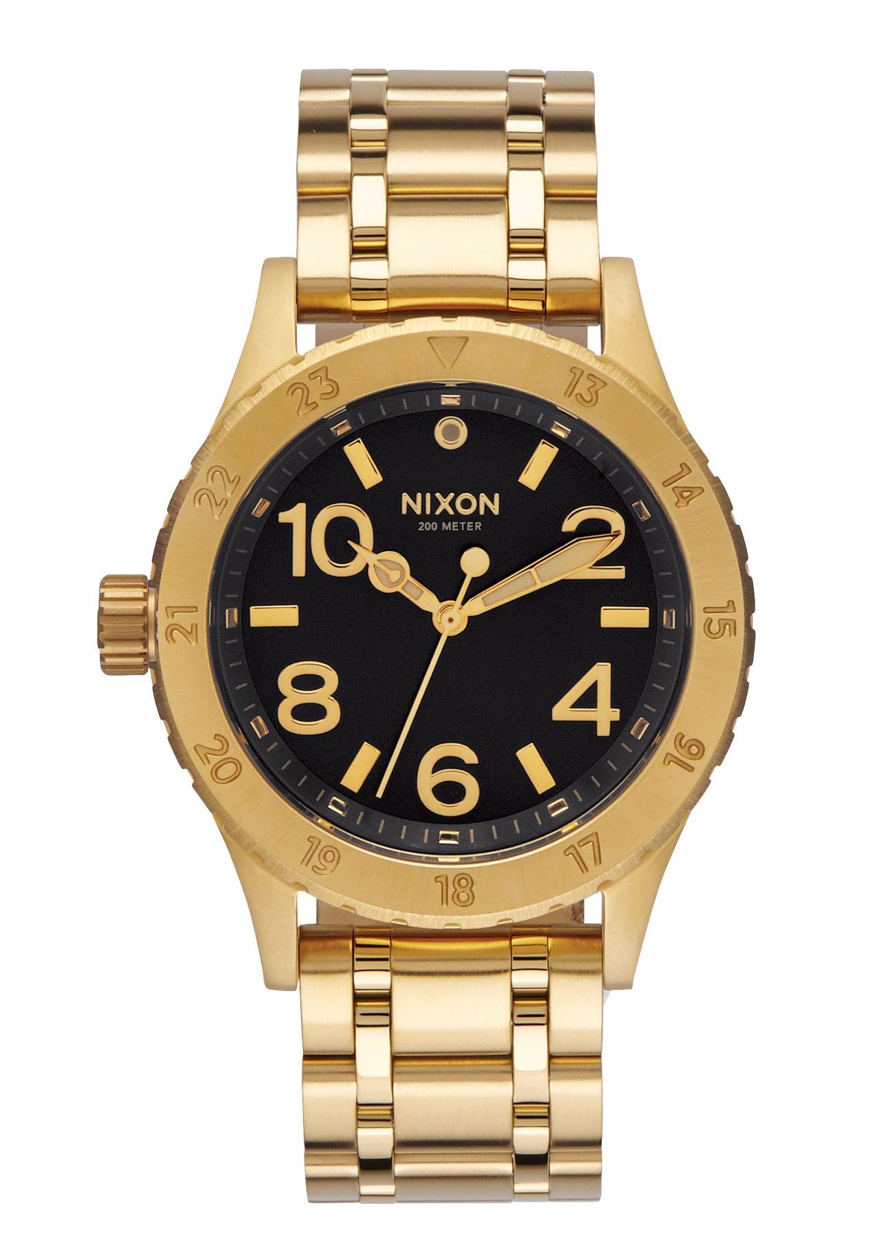 Nixon The 38-20 All Gold / Black / Sunray