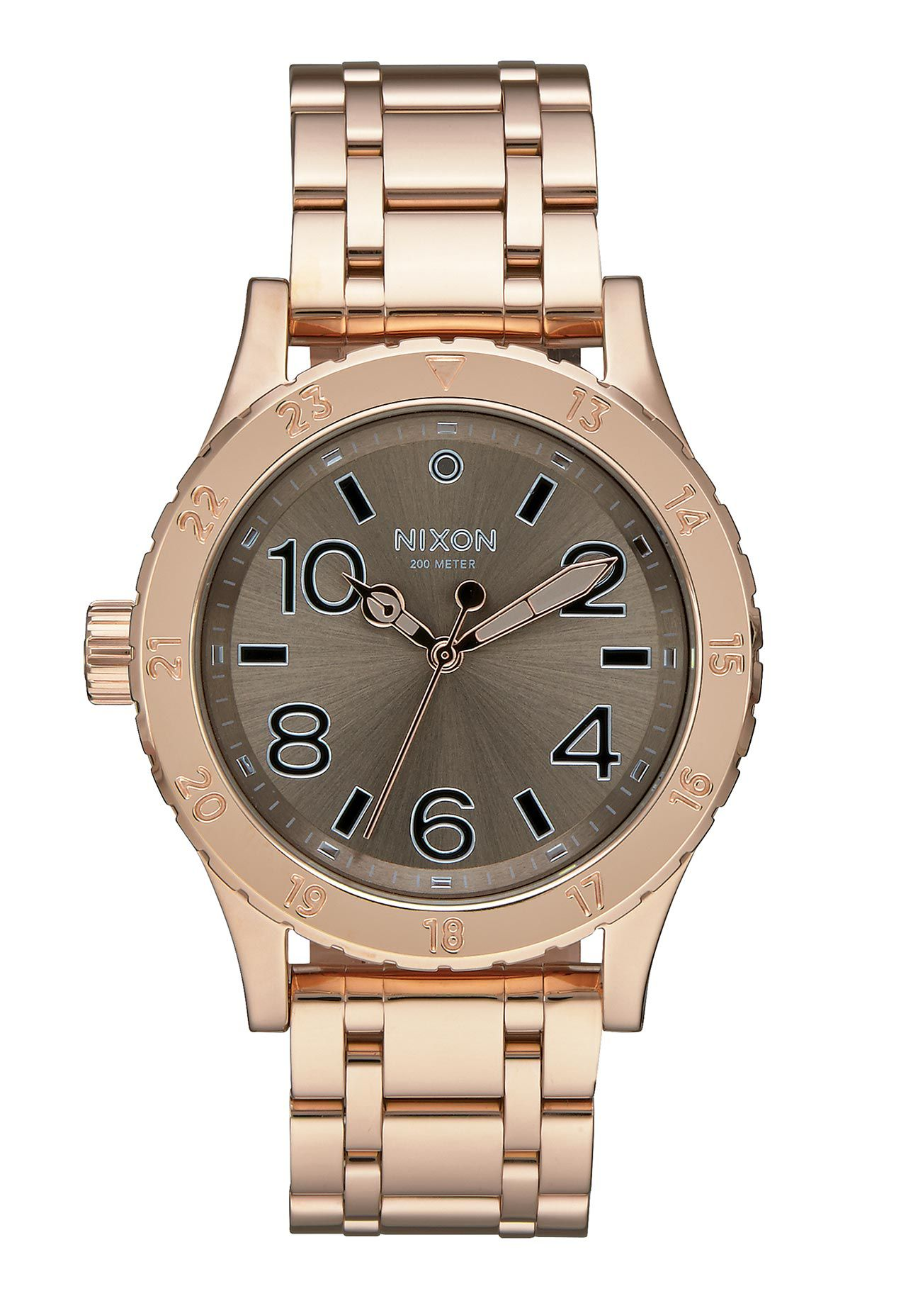 Nixon The 38-20 Rose Gold Taupe