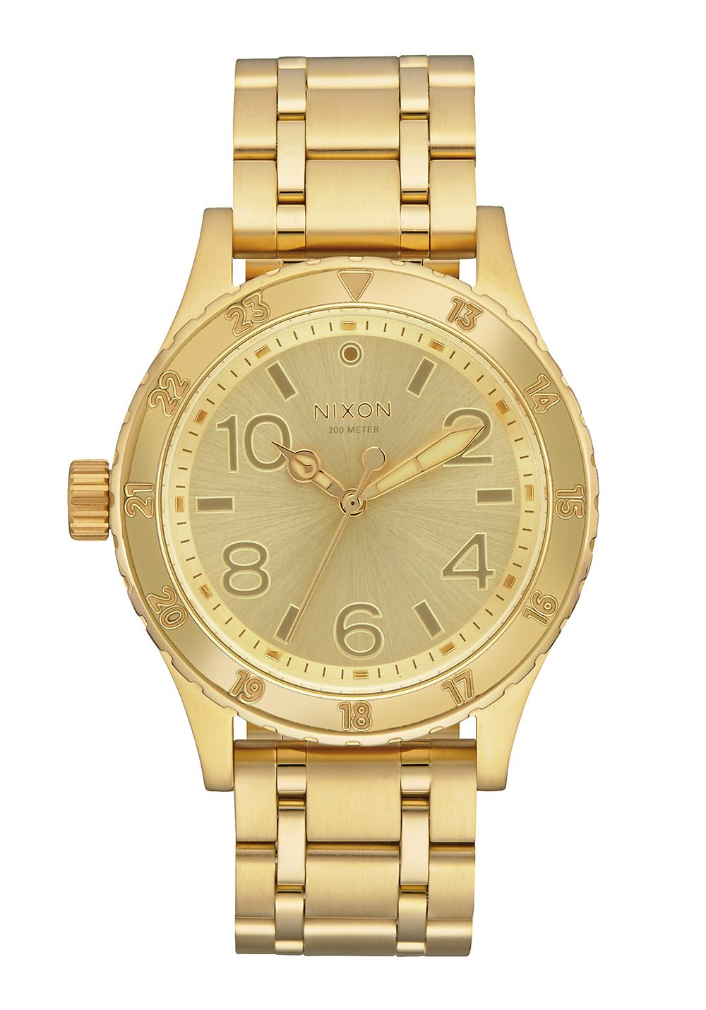 Nixon The 38-20 All Gold Herrenuhr