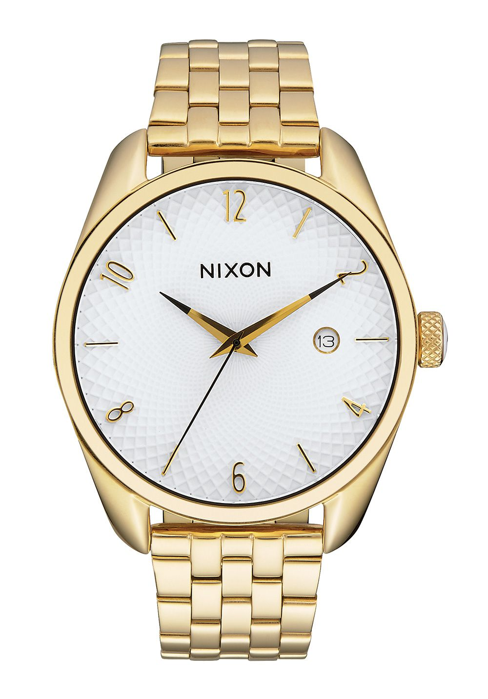 Nixon The Bullet Gold White