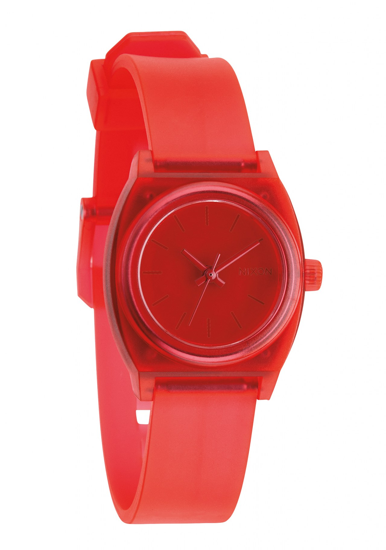 Nixon The Small Time Teller P Translucent Coral