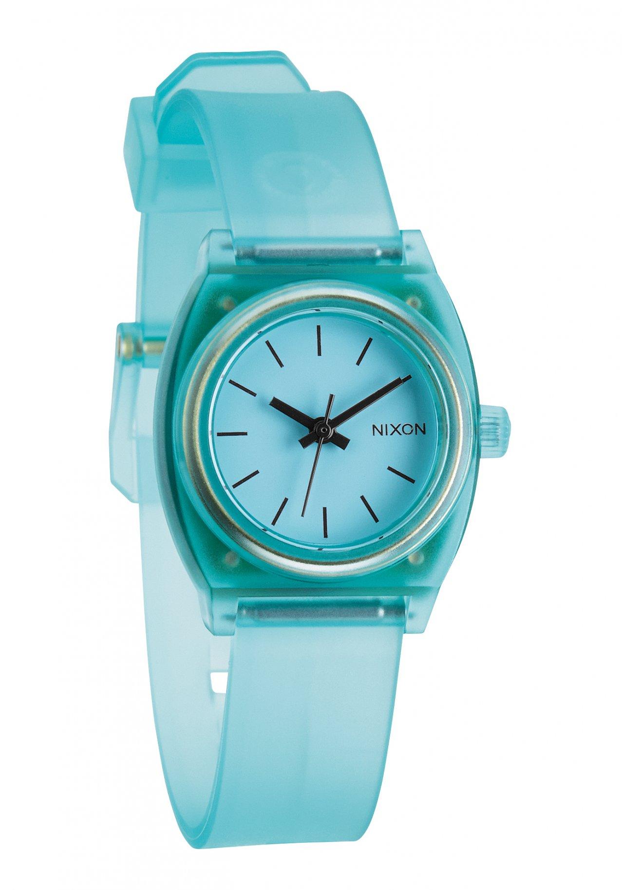 Nixon The Small Time Teller P Translucent Mint