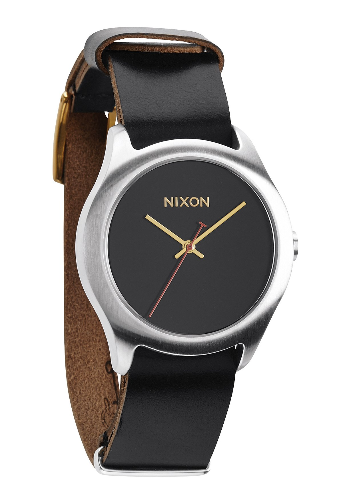 Nixon The Mod Leather Black / Silver / Gold