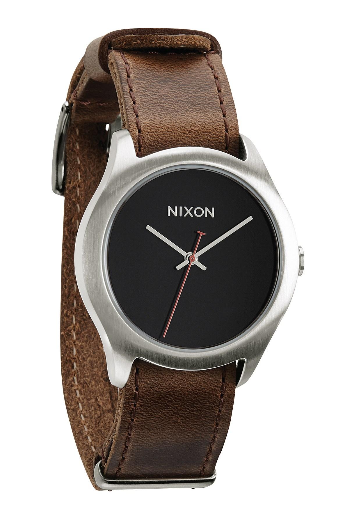 Nixon The Mod Leather Brown