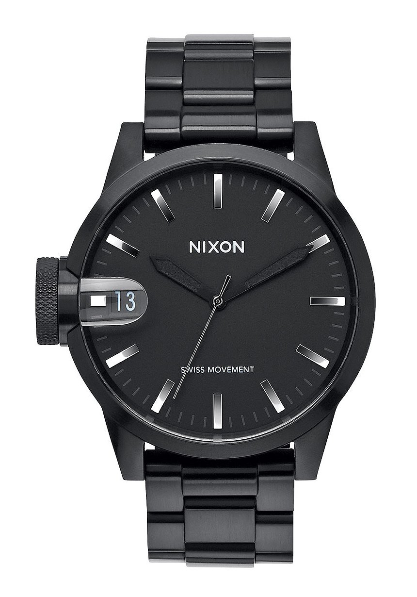 Nixon The Chronicle 44 Black / Gunmetal