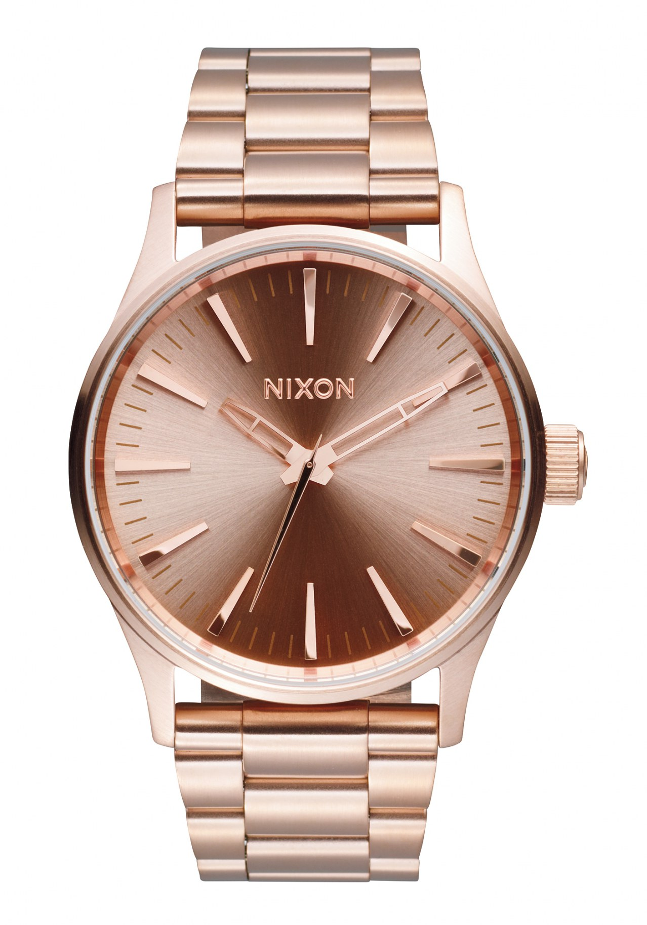 Nixon The Sentry 38 SS All Rose Gold Herrenuhr