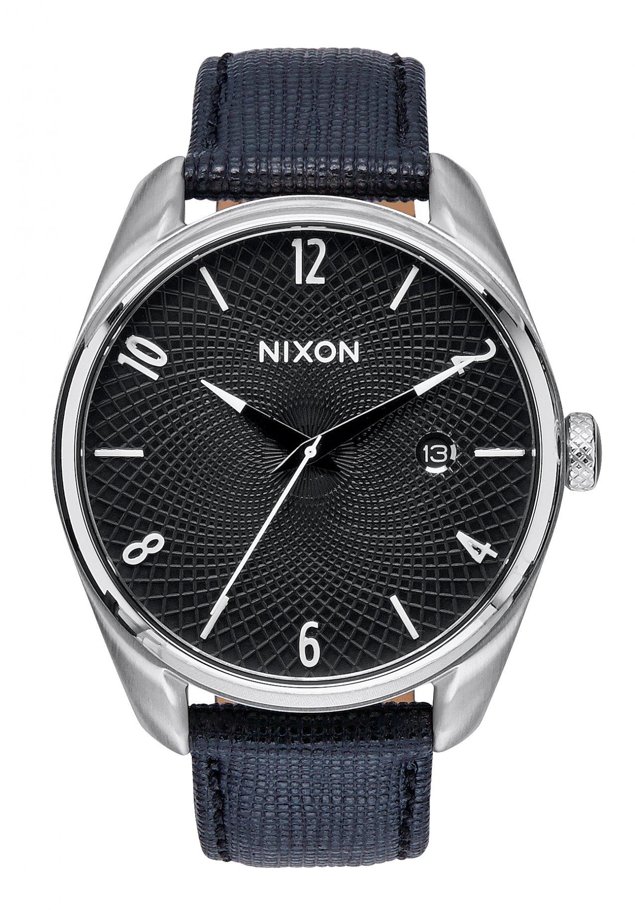 Nixon The Bullet Leather Black