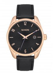 Nixon The Bullet Leather Rose Gold / Black (A4731098)