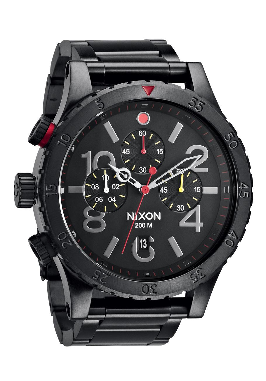 Nixon The 48-20 Chrono All Black / Multi