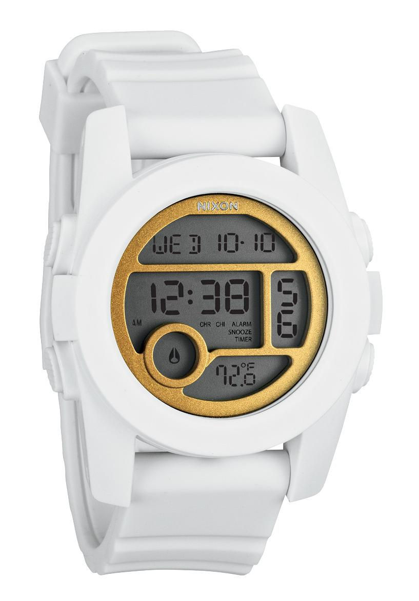Nixon The Unit 40 All White / Gold