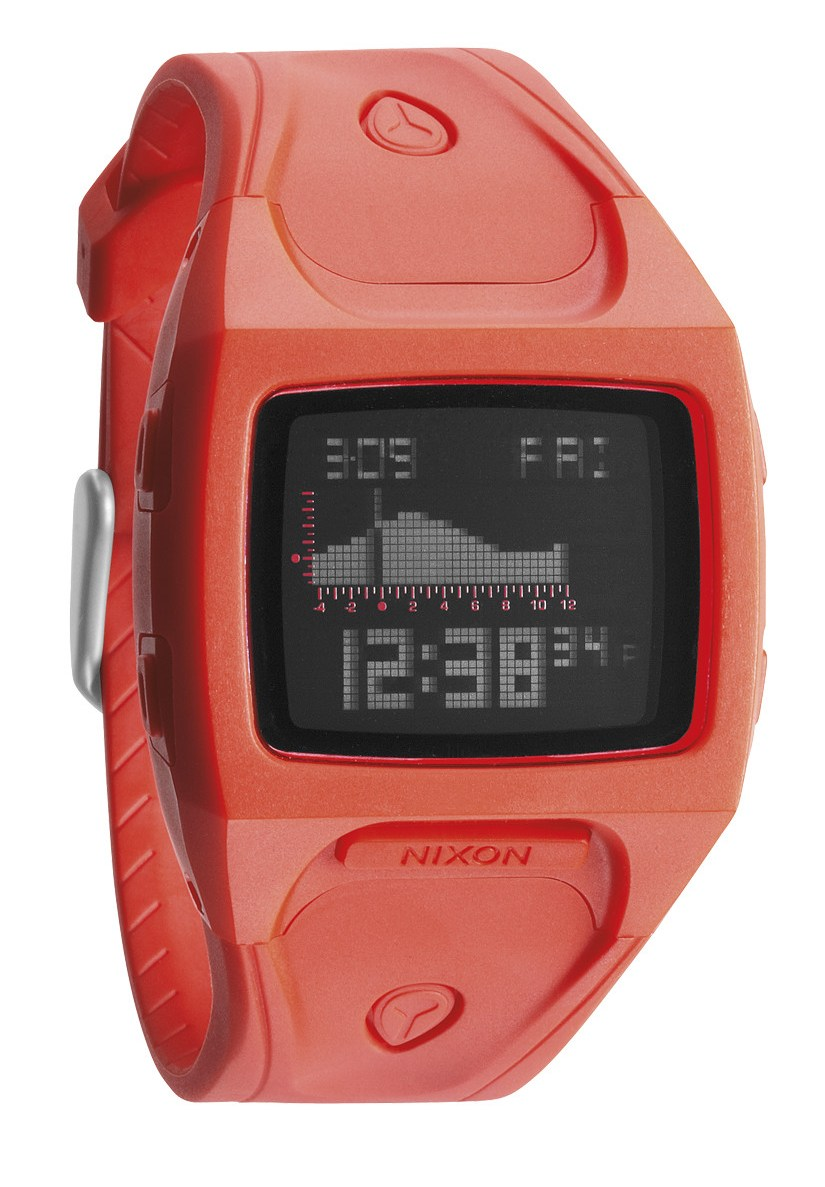 Nixon The Small Lodown Neon Orange Digitaluhr