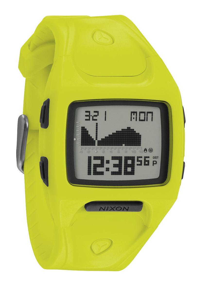 Nixon The Small Lodown Neon Yellow Digitaluhr