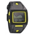 Nixon The Small Lodown All Black/Lime Digitaluhr