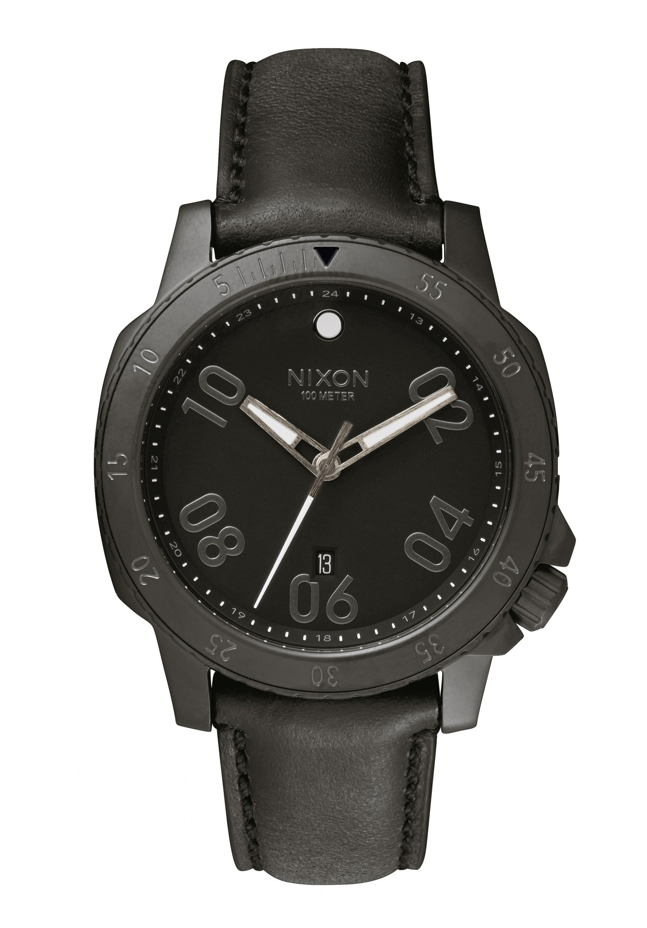 Nixon The Ranger Leather All Black