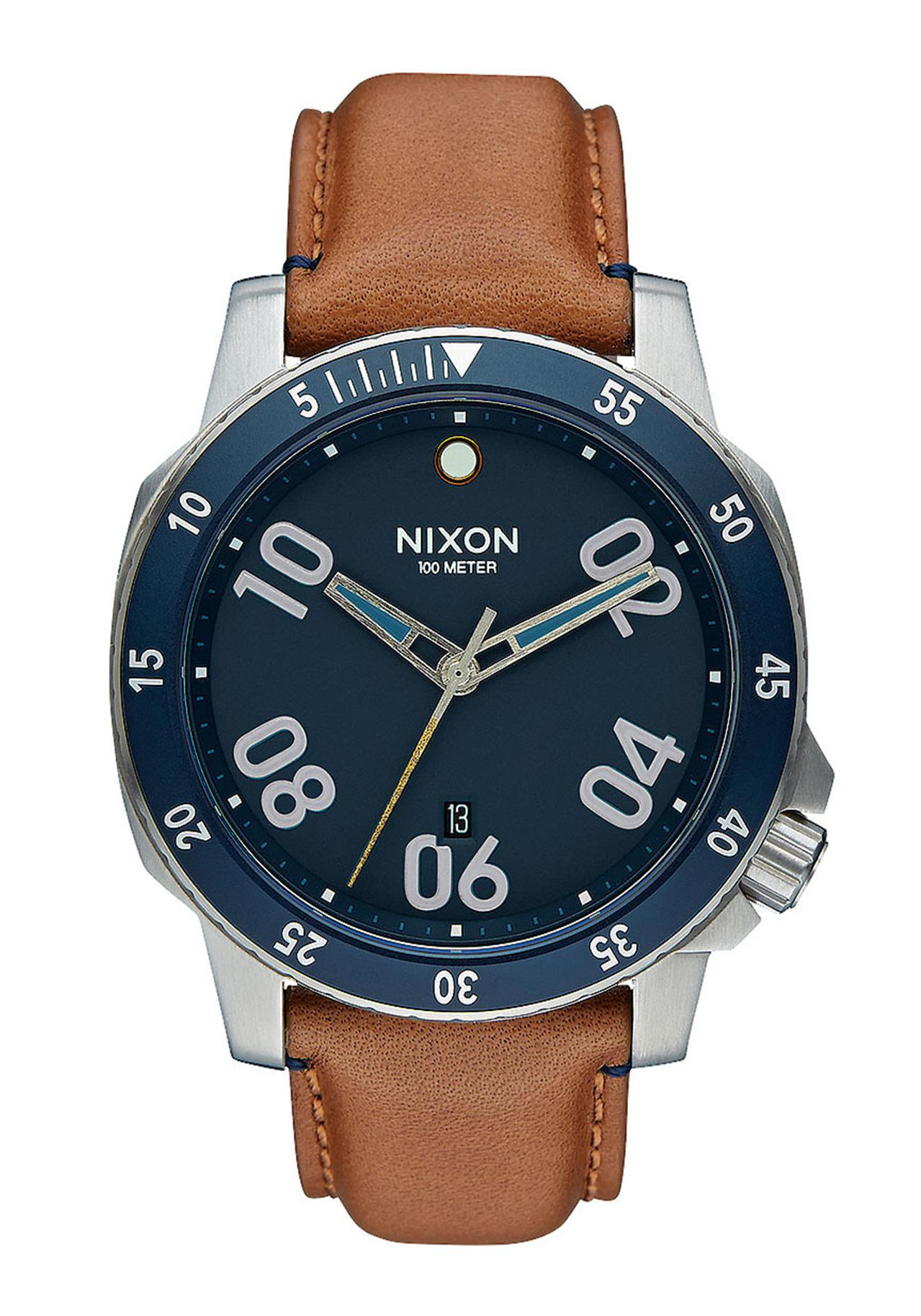 Nixon The Ranger Leather Navy / Saddle