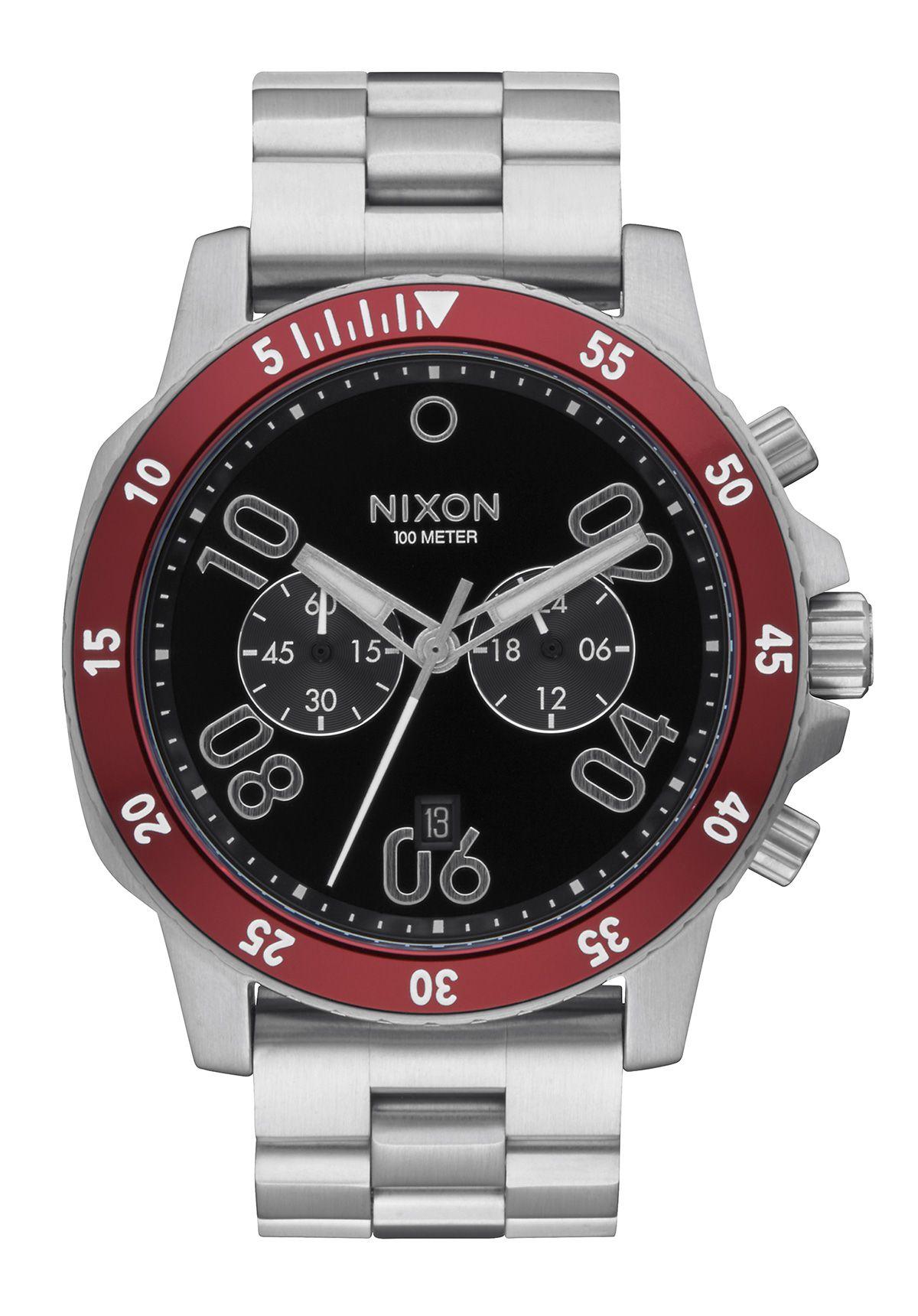Nixon The Ranger Chrono Black / Red