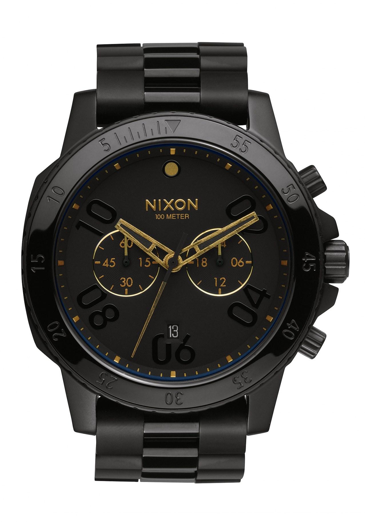 Nixon The Ranger Chrono Black Gold
