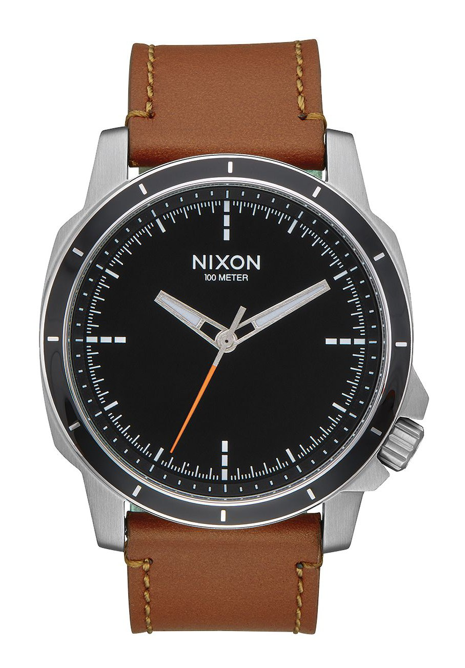 Nixon The Ranger Ops Leather Black / Saddle